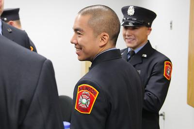 Arlington County Fire Department Fire Training Academy Graduation