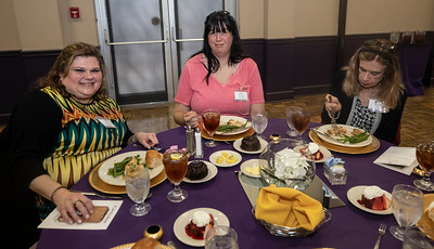 Dr. Leigh Hester, Athens State, Katia Mayfield, Athens State, Debbie Fergusen, Athens State