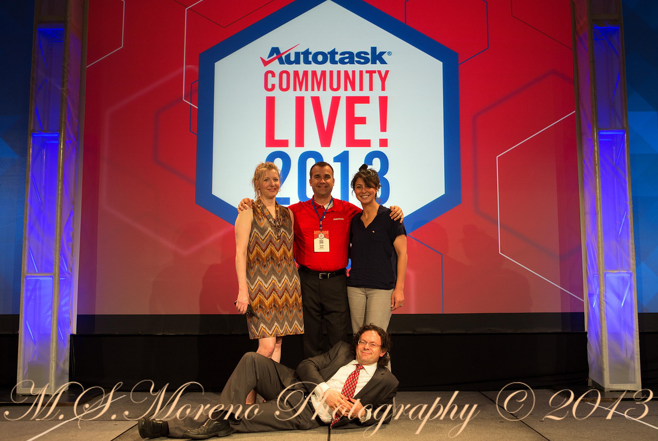 Autotask Staff (with Tush) - Autotask Community Live 2013