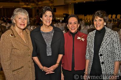 Katherine Black, Francie Osthimer, Sandra Bley, Glennie Eisele