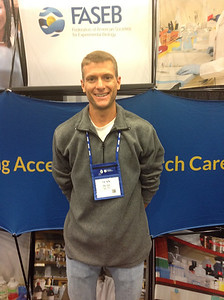 FASEB MARC Travel Award Winner:  Sean Miller, student at University of Texas at El Paso