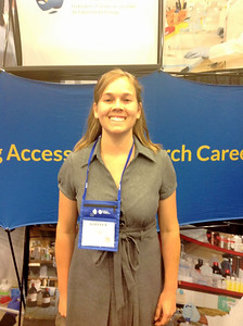 FASEB MARC Travel Award Winner:  Kirsten Granados, student at University of Massachusetts, Amherst