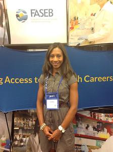 FASEB MARC Travel Award Winner:  Kisha Virgil, student at Indiana University-Purdue University