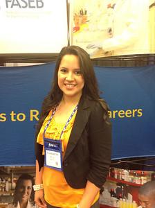 FASEB MARC Travel Award Winner:  Katheryne Castro, student at Kennesaw State University