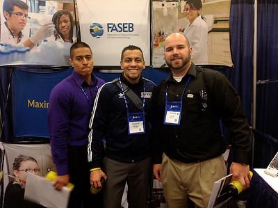 FASEB MARC Travel Award Winners:  Eric Gomez, Dominic Ramos and Justin Porta, students at the Unoversity of Texas at El Paso
