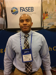 FASEB MARC Travel Award Winner:  Dr. Marquell Johnson, faculty at the University of Wisconsin, Eau Claire