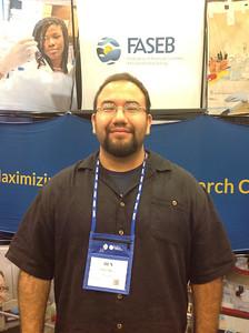 FASEB MARC Travel Award Winner:  Benjamin Ramirez, student at University of Texas at El Paso.