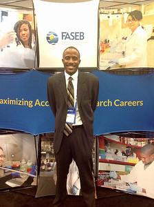 FASEB MARC Travel Award Winner:  Haywood Smith II, student at Howard  University