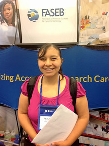 FASEB MARC Travel Award Winner:  Monica Contreras, student at the University of Texas at El Paso