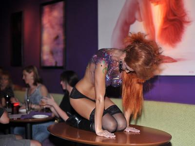 A.D. Cook Artshow at Grape Vegas