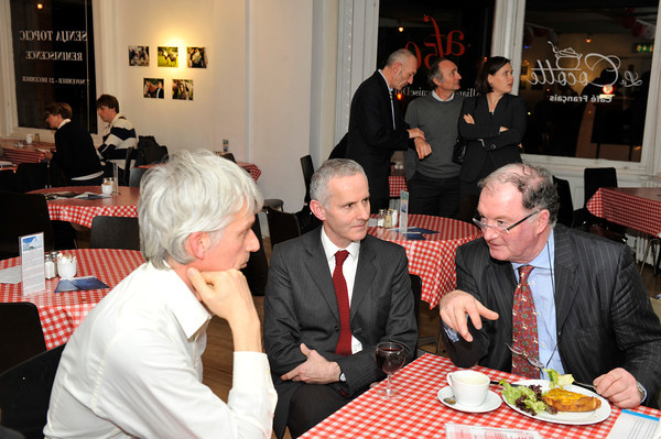 First Café Scientifique held in Alliance Francaise, Kildare Street, Dublin on Thursday 22 November 2012 at 6.30pm. In support of Eimear Carlin - 2013 Antarctic Expedition. For further information contact Director Alliance Francaise Dublin Philippe Milloux +353.1.6381440. Photograph: Margaret Brown MFLphoto