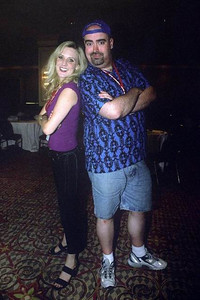 Kyle Hebert and Stephanie Nadolny