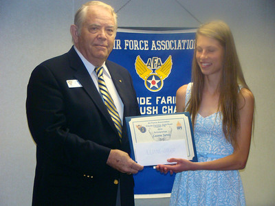 2014 Air Force Association Chapter 116 Scholarship Awards Luncheon