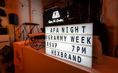 01/23/20, AFA, CA, Los Angeles, Grammy Week