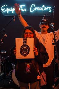 01/23/20, AFA, Audio - Technica, CA, Giveaway, Grammy Week, Los Angeles