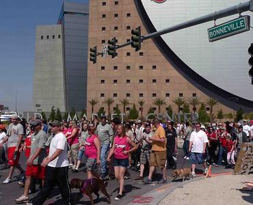 Good looking crowd