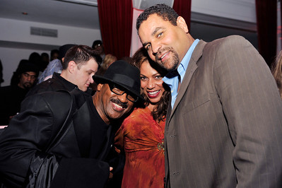 HOLLYWOOD The Pan African Opening Night Think L:ike A Man After Party was held in Hollywood California on February 9, 20(Photo by Valerie Goodloe)