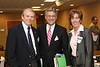 Picture one: Dr. Jairy Hunter, President CSU, John Sullivan, VP and CEO RSFH, PJ Johnson, CEO Summerville Medical Center