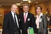 Picture one: Dr. Jairy Hunter, President CSU, John Sullivan, VP and CEO RSFH, PJ Johnson, CEO Summerville Medical Center