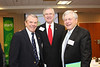 Dr. Jairy Hunter, President CSU, David Dunlap, President and CEO RSFH, Larry Tarleton, Publisher of Post and Courier