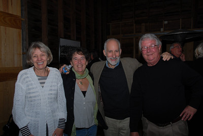 Elna Harris (Yongue), Judy and Geoff Pitts, Jim Brewer
