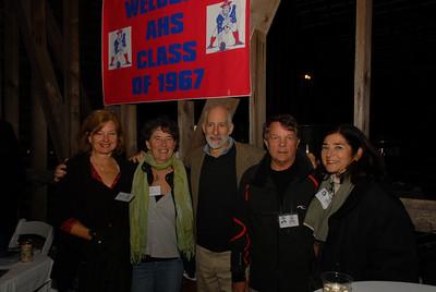 Owen Jaeger, Judy and Geoff Pitts, Walter Jaeger, Jimena Vignola