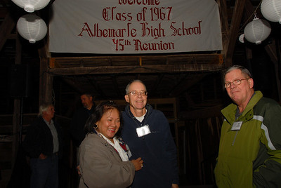 John Barbour and wife, Jim Haney, husband of Alice Thomas