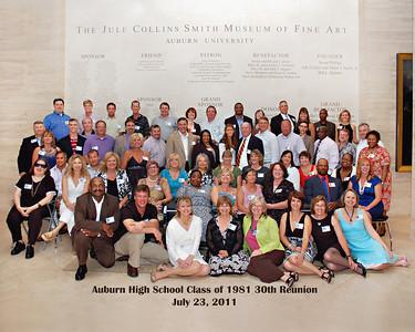 AHS Class of 1981 30th Reunion