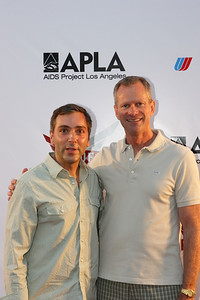 Scott Lowell, Queer as Folk (Showtime) & Craig Thompson  AIDS Project Los Angeles (APLA)l present its 22nd Summer Party, one of the most anticipated events of the season, on Saturday, August 4 at ÒThe LotÓ in West Hollywood. Entertainers Thelma Houston and Tiffany will headline on the 104.3 KBIG outdoor concert stage, while Showtime Networks will create the Queer As Folk dance party with special cast appearances on a soundstage.