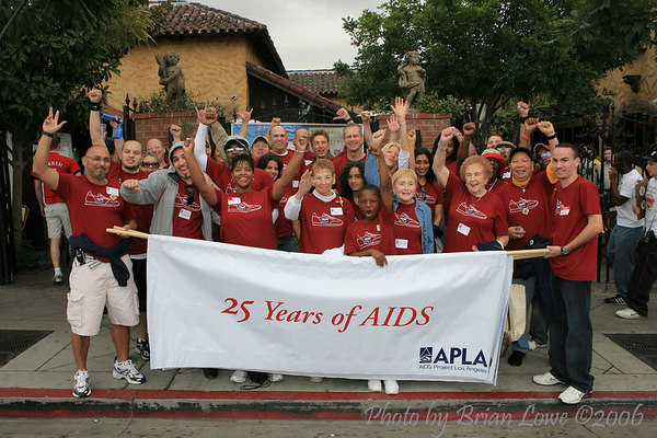 AIDS Walk Los Angeles  Southern California's largest AIDS fundraiser, AIDS Walk Los Angeles is a 10-kilometer walkathon to raise urgent funds for APLA and other AIDS service organizations.