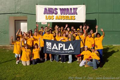 Team APLA AIDS Walk Los Angeles 2007