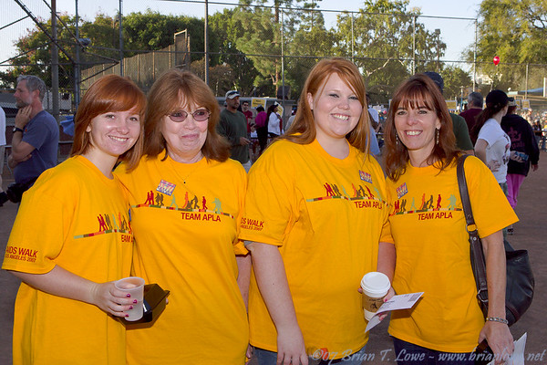 Team APLA walkers