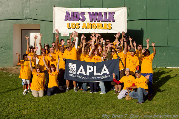 Team APLA AIDS Walk Los Angeles 2007