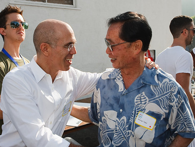 Jeffrey Katzenberg (DreamWorks Co-Founder) & George Takei (Star Trek)