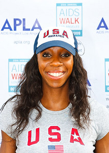 Lashinda Demus (Olympian Hurdler and 2009 USA Outdoor Champion)