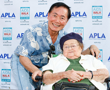 George Takei (Star Trek) & Zelda Rubinstein (Poltergeist)
