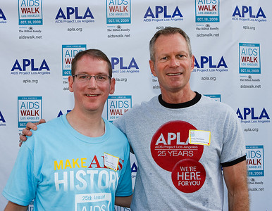 Jeff Crowley, White House Director of AIDS Policy & Craig Thompson APLA