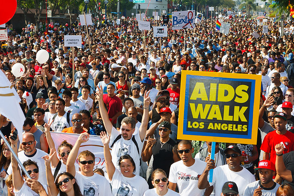27th ANNUAL AIDS WALK LOS ANGELES