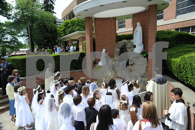 5/7/11-  Our Lady of Lourdes  Bethesda Maryland  First Communion at Our Lady of Lourdes  .photo: Christy Bowe- ImageCatcher News