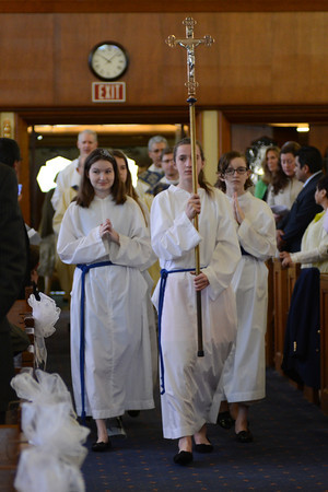 5/3/14- Our Lady of Lourdes, Bethesda Md  Our Lady of Lourdes 2014 First Holy Communion   photo: Christy Bowe - ImageCatcher News