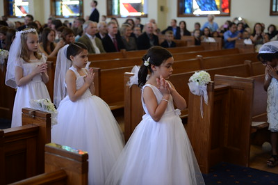 5/2/15-Our Lady of Lourdes Church-  Bethesda Md.  2015 First Holy Communion    -photos by: Christy Bowe- ImageCatcher News