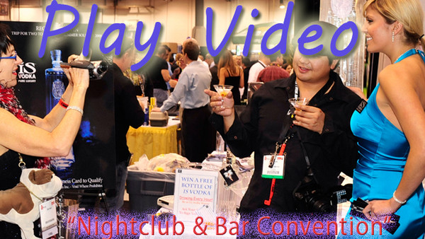 Nightclub and Bar Convention at iS Vodka Booth