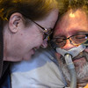 Andrew and Kathleen Leclaire share a laugh on Monday, March 14, 2016. Kristopher Radder / Reformer Staff