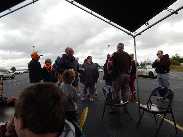 ALS benefit for Shane England at Rural King. All money raise was used to finish the England's home after Shane was confined to wheelchair by ALS.