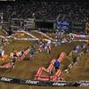 Supercross Lites race.