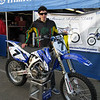Alex signed up to win this James Stewart replica bike.