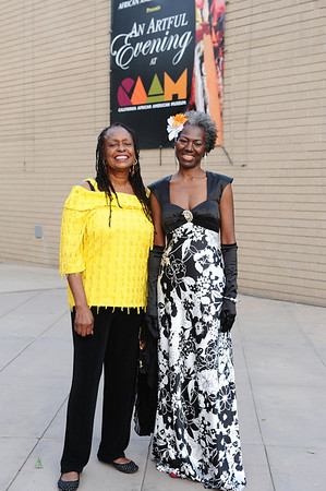 "FRIENDS, THE FOUNDATION OF THE CALIFORNIA AFRICAN AMERICAN MUSEUM WELCOMED EVERYONE TO THE SEVENTH ANNUAL ""AN ARTFUL EVENING AT CAAM HONORING JOHN OUTTERIDGE AND SIDNEY POITIER HOSTED BY CCH POUNDER ON SATURDAY OCTOBER 6, 2012 IN LOS ANGELES CALIFORNIA (Photo by Valerie Goodloe)"