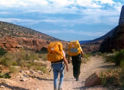 ANG(Jim Fuller,Allyn Rifkin,Moses) hiking in the spetacular HAVASU CANYON(PART OF GRAND CANYON)!!!