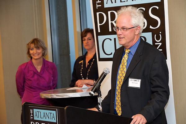Atlanta Press Club Awards of Excellence program.  Atlanta Press Club Awards of Excellence program.