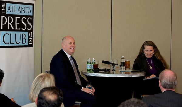 Atlanta Press Club conversation with Jeffrey Sprecher, Chairman and CEO of Intercontinental Exchange.